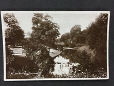 Vintage Postcard: #TP053: Derbys: Buxton Gardens: Posted 1933 Greatorex & Son
