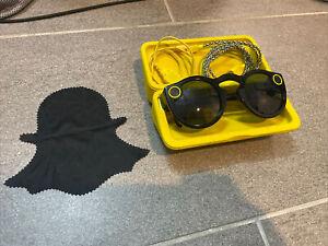 Snapchat Spectacles Sunglasses - Gen. 1 - Black 2016