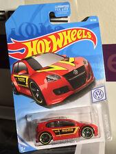 2019 Hot Wheels Volkswagen Golf GTI Momo Red VW Diecast Series Case A
