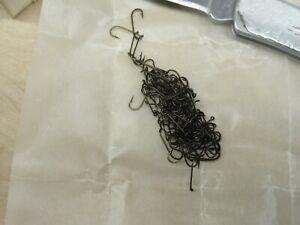 100 Mustad Viking Qual. 94840 Size 16 Fly Tying Hooks Vintage  Dry New
