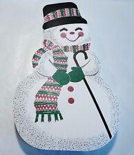 "White Snowman Direct Pour Box, 8"" / empty 10 boxes per 1 lot"
