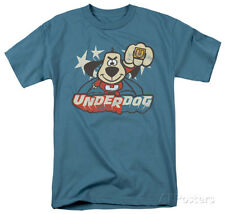 Underdog - Flying Logo Apparel T-Shirt L - Slate