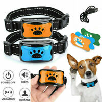 Electric Rechargeable Anti Bark Pet Dog No Barking Training Shock Control Collar