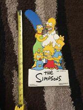 The Simpsons StarMakers   Store Display  Bart Simpson Rare 1990 Vintage