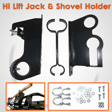High Lift Jack & Shovel Holder 4×4 4WD Mount Roof Rack Farm Universal AU