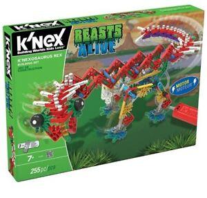K'Nex Beasts Alive K'nexausaurus Rex Building Set Age7+