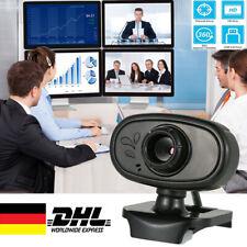 Full HD 480P Webcam Kamera USB 2.0 Mit Mikrofon für Computer PC Laptop Notebook