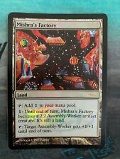 Mishra's Factory Judge Foil Promo Mtg Magic the Gathering