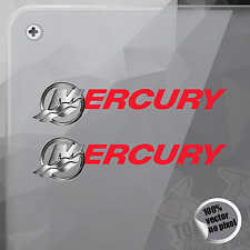 PEGATINA MERCURY MARINE BOATS ENGINES DECAL STICKER AUFKLEBER AUTOCOLLANT
