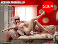 "PHICEN GIRL S26A 1/6 Seamless SHORTER BODY 10.6"" PALE MID Breast TBLeague"