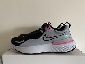 Nike MILLER REACT SHIELD UK 5.5 EU 39 Women's Running Black Grey Water Resistant