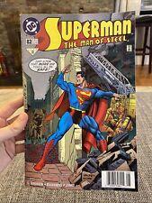 SUPERMAN  THE MAN OF STEEL #82  DC COMICS 1998 NM-