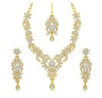 Bridal Jewelry set- necklace and earrings wedding accessories