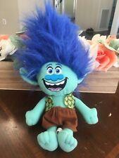 Dreamworks Trolls Branch Blue Plush Doll