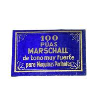100 MARSCHALL Grammophonnadeln für's Grammophon 78rpm vintage gramophone needle