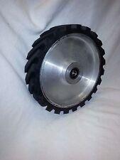 """8"""" Serrated Contact Wheel for 2x72 Belt Sander Grinder"""