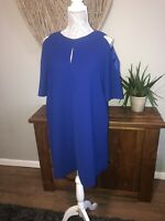 Phase Eight Ladies Purple Blue Dress Size 12