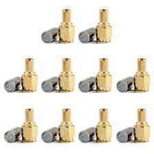10Stk Connector SMA Male Stecker Plug Crimp RG58 RG142 LMR195 RG400 Cable