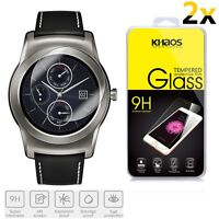 2x KHAOS For LG G Watch Urbane W150 Premium Tempered Glass Screen Protector