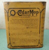 Vintage Antique O-cedar Polish Mop Tin Rare Triangle Three Sided