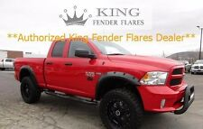 2009-2018 DODGE RAM 1500 RIVET POCKET STYLE Bolt-On  KING FENDER FLARES - smooth