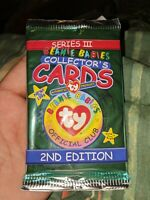 Ty Beanie Babies Collector Cards Series 111 2nd Edition Unopened Sealed NEW