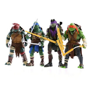 2014 Teenage Mutant Ninja Turtles Movie Action Figure TMNT 4pcs 15CM Kids Toy