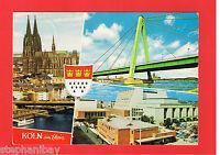 alte AK - Köln am Rhein / NRW - Dom Severinsbrücke Opernhaus Ansichtkarte 50667