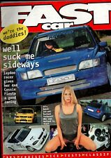 FAST CAR MAGAZINE-4x4 COSSIE FIESTA & RACHEL TERHORST COVER JANUARY 2000