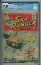 JOHNNY LAW SKY RANGER #4 9.0 OW/WH PAGES
