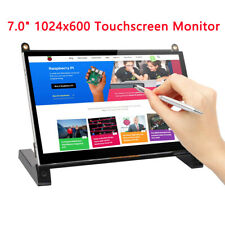 """7"""" Inch Monitor IPS Touchs 1024×600 Monitor Display TFT LCD for HD Car CCTV US"""