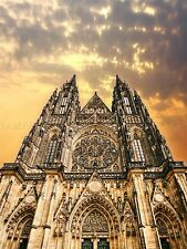 PHOTO ARCHITECTURE ST VITUS CATHEDRAL PRAGUE CZECH REPUBLIC POSTER BMP10117