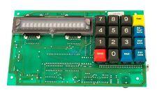 Watkins Johnson 966414-000 Display Panel W/ Key Pad Circuit PCB For front Panel