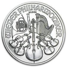 2011 Austria 1 oz Silver Philharmonic BU - SKU #59159