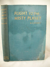 FLIGHT TO THE MISTY PLANET Patchett 1954 HC 1st US Ed Vintage Science Fiction