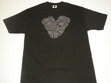 TWELVE BAR  S/S TEE  BLACK  SIZE  LARGE