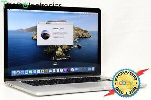 """(👍 A) Mid 2015 Apple MacBook Pro 15"""" i7 2.2GHz 16GB 256GB SSD Retina A1398"""