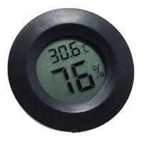 Igrometro Di Umidità Termometro Rettile Rotondo Per Rettili Lucertole Serbatoio