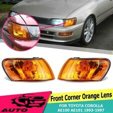2X Front Corner Turn Signal Light Lamp For Toyota Corolla AE100 AE101 E100 93-97