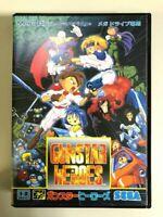 Gunstar Heroes Action game Mega Drive SEGA game Used Japan Version Free Shipping
