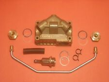"""HOLLEY / FORD  """"GT CLONE""""  390 / 427 GT  FUEL BOWL CROSSOVER CONVERSION KIT"""