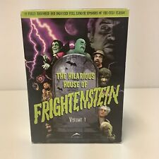 The Hilarious House of Doctor Frightenstein Volume 1 OOP DVD 3-Disc Box Set RARE