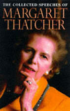 Margaret Thatcher: The Collected Speeches, , Acceptable Book