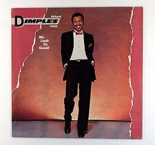 Richard Dimples Fields - Mr. Look So Good! (UK Vinyl LP 1st) Near Mint Vinyl