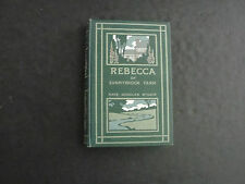 Rebecca Of Sunnybrook Farm by Kate Douglas Wiggin (HC, 1903)