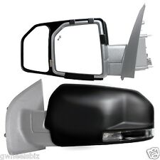 2015 2016 2017 FORD F150  CLIP SNAP-ON & ZAP TOWING SIDE MIRROR EXTENSION (PAIR)