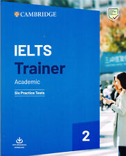 Cambridge English IELTS TRAINER 2 Academic SIX PRACTICE TESTS with Download @NEW