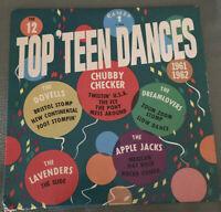 The 12 Top Teen Dances Record LP
