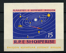Albania 1964 SG#MS872a Solar System Planets Space MNH Imperf M/S #A61427