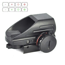 Tactical Holographic Reflex Red Green Laser Dot Sight Scope 20mm Picatinny Rail